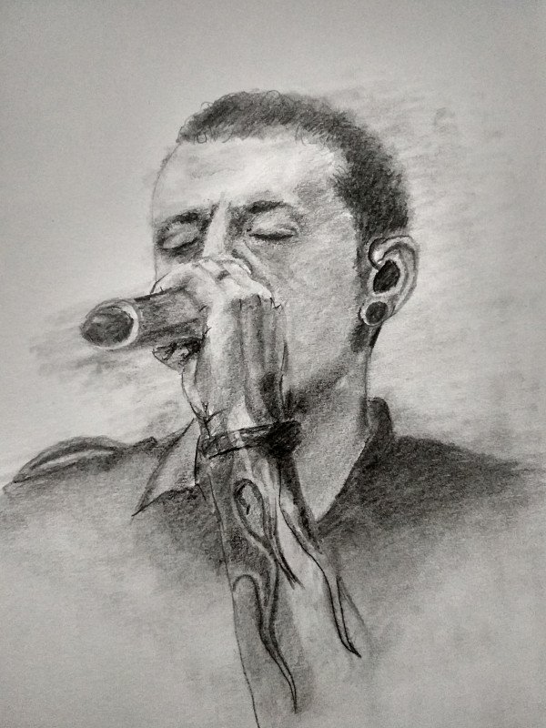 Портрет Chester Bennington Linkin Park