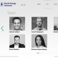 "Сайт ""North energy ventures"""