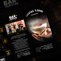 Bartrigger menu flyer