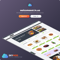 "Сайт для ресторана ""Welcome Eat"""