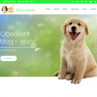 Education - Landing Page