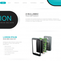 Ion - Landing Page