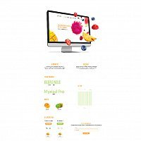 Site for online store «Fruits»