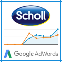 "Рекламная Компания в Google AdWords ""Пилка Scholl """